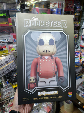Bearbrick Medicom 2019 The Rocketeer 100% & 400% Set Be@rbrick