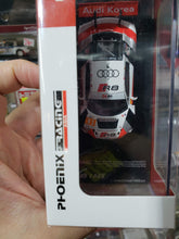 Load image into Gallery viewer, Tarmac Works 1/64 Audi Korea R8 LMS #31 Asian Le Mans Phoenix Racing Asia