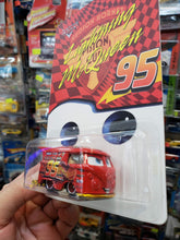 Load image into Gallery viewer, Hot Wheels Thai Custom Kool Kombi Lightning McQueen Hudson Hornet