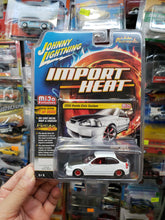 Load image into Gallery viewer, Johnny Lightning Import Heat Mijo Exclusive 2000 Honda Civic Custom White