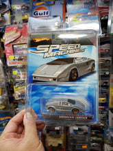 Load image into Gallery viewer, Hot Wheels Speed Machines Lamborghini Countach ( Bent Corner !!! )