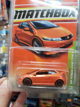 Load image into Gallery viewer, Matchbox Metro Rides 08 Honda Civic Type R