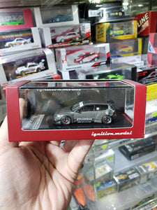 Tarmac Works 1/64 x ig ignition Models Honda Civic Pandem EG6 Gun Metallic