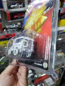 Johnny Lightning Mijo Exclusive Japan Metropolitian Police 1980 Toyota Land Cruiser White Lightning Chase