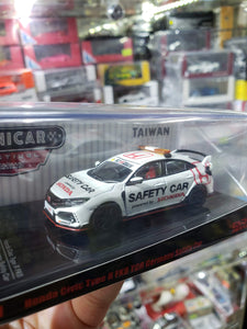 Tarmac Works 1/64 Honda Civic Type R TCR Germany Safety Car Taiwan Exclusive