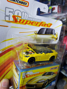 Honda S2000 * 2019 Matchbox 50th Anniversary Superfast