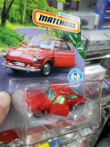 MATCHBOX 2019 MOVING PARTS 1965 VOLKSWAGEN TYPE 3 FASTBACK DIECAST FWD28-956A