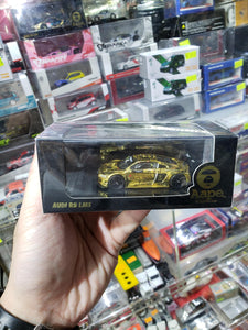 Tarmac Works 1/64 Audi R8 LMS Aape Bathing Ape Marchy Lee Shaun Thong GT Asia 2016 Okayama Round 6 Winner ~ Store Exclusive