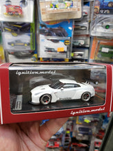 Load image into Gallery viewer, Tarmac ignition model 1:64 Pandem TRA Racing Nissan GT-R Metallic White