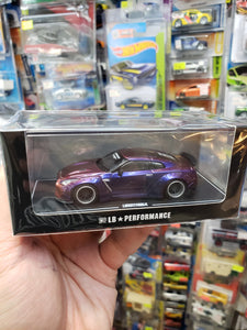 LB Performance 1/64 Nissan GT-R R35 Duck Tail Chameleon Purple
