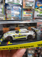 Load image into Gallery viewer, Tarmac 1:64 Mercedes AMG GT3 Macau GT Cup with Edoardo Mortara's Autograph