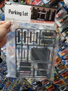 Plastic Model Kit 1/64 Parking Lot Pre-Release Version ( Car and figure not included !!! )