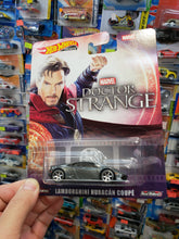 Load image into Gallery viewer, Hot Wheels Premium Retro Marvel Studios Doctor Strange Lamborghini Huracan Coupe
