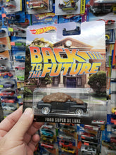 Load image into Gallery viewer, Hot Wheels Premium Back To The Future Ford Super De Luxe Real Riders AT