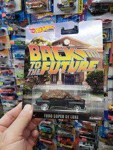 Hot Wheels Premium Back To The Future Ford Super De Luxe Real Riders AT