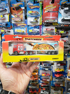 Matchbox Convoy Pizza Hut 1993