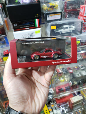 Ignition Model 1/64 Rocket Bunny RX-7 (FD3S) Red Metallic 1407 Tarmac ig