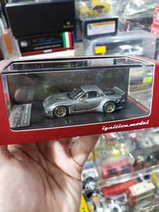 Ignition Model 1/64 Rocket Bunny RX-7 (FD3S) Titanium Gray 1743 Tarmac ig