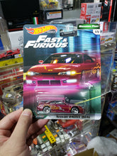 Load image into Gallery viewer, Set of 5 Hot Wheels Premium Car Culture Fast & Furious Mix 2 Nissan 240SX S14 95 Mitsubishi Eclipse 95 Mazda RX-7 Volkswagen Jetta MK3 Skyline GT-R BCNR33 *** Free Ship Worldwide !!!