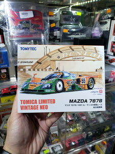 TOMICA LIMITED Vintage Neo TLV Mazda 787B 1991 Le Mans Champ 1/64 TOMY Tomytec ( Free Shipping Worldwide !!! )