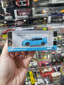 Inno64 Honda Civic Type R FD2 Mugen RR Light Blue Philippine Special Edition National Swap Meet 2019