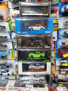 Set of 6 Tarmac Porsche 930 RWB Raul-Welt Begriff Lime Green Stella Stellaartois Container Apple EA Need For Speed ( Free Shipping Worldwide !!! )