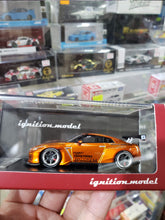 Load image into Gallery viewer, Tarmac Works x ignition ig 1/64 Pandem TRA Racing Nissan GT-R Orange 1599 Malaysia Expo ( Free Shipping Worldwide )