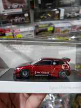 Load image into Gallery viewer, Ignition Model ig 1/64 PANDEM CIVIC EG6 Red Metallic Tarmac Works Exclusive