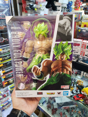 Bandai S.H.Figuarts Dragon Ball SS Saiyan Broly Full Power Figure ( Free Shipping Worldwide !!! )