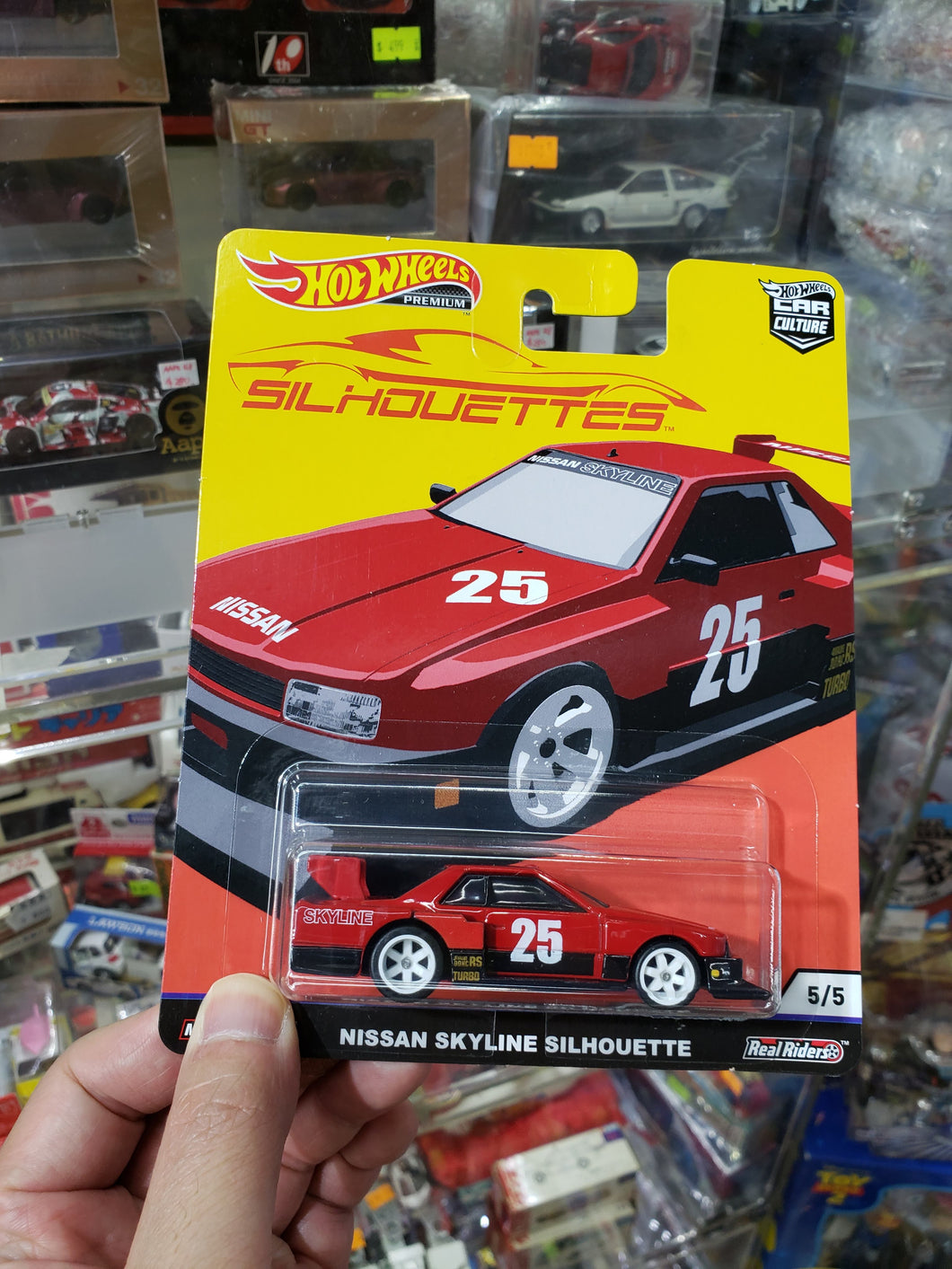 Hot Wheels Premium Car Culture Silhouettes Nissan Skyline Silhouette Real Riders