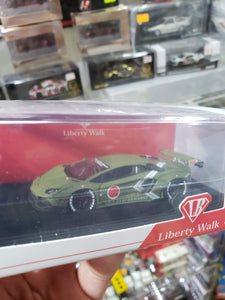 LB Liberty Walk 1/64 LB Performance Lamborghini Aventador Zero Fighter Taiwan Exclusive