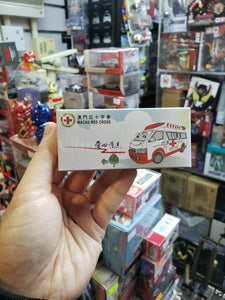 Tiny First Aid Service Macau Red Cross Ambulance ( Free Shipping Worldwide !!! )