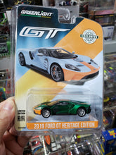 Load image into Gallery viewer, GREENLIGHT GREEN MACHINE 1/64 2019 FORD GT HERITAGE EDITION #9 GULF RACING 29909 Brand New Chase Greenie