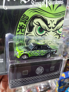 1:64 Greenlight Japan Exclusive Hell's Dept Datsun 510 limited Edtion