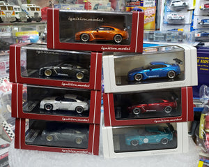 Complete Set of 7 Tarmac Works x ignition Model 1/64 Pandem TRA Racing Nissan GT-R ( Free Shipping Worldwide !!! )