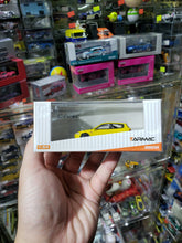 Load image into Gallery viewer, Tarmac Works 1/64 Honda Civic eg6 Yellow with Carbon Hood
