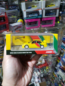 Inno64 Mitsubishi Lancer Evolution III Hong Kong Classic Movie Car 1995