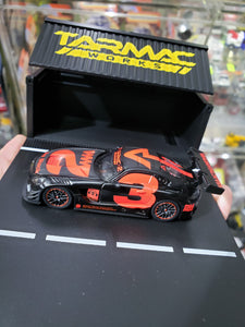 Tarmac Works 1/64 4A Mercedes Benz AMG GT3 Like Black #3 Red