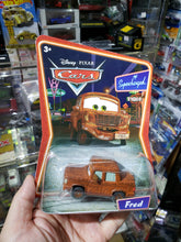 Load image into Gallery viewer, Disney Pixar Cars Mattel 1/55 Supercharged Fred
