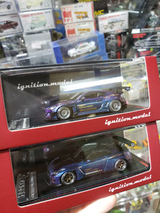 Tarmac Works x ig ignition Model 1/64 Pandem Nissan Skyline & Toyota 86V3 Purple Blue 1855 1856