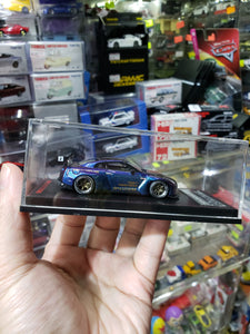 Tarmac Works x ig ignition Model 1/64 Pandem Nissan Skyline Purple Blue 1855