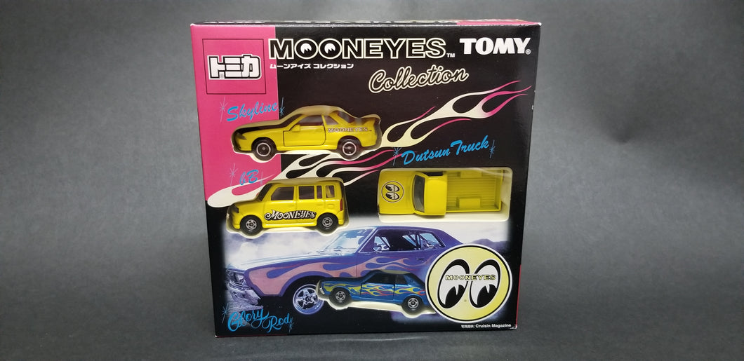 Tomica Mooneyes box set. Made in China. Unopened box.