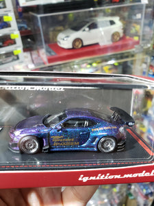 Tarmac Works x ig ignition Model 1/64 Pandem Toyota 86V3 Purple Blue 1856