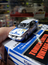 Load image into Gallery viewer, Tomica Limited Vintage 1/64 Neo Nissan Bluebird Full Time 4WD Nissan Bluebird SSS-R 1988 All Japan Rally LV-N185b TLV Tomytec