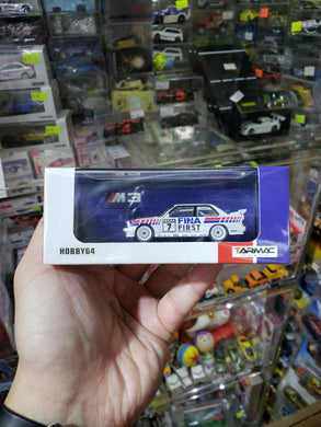 Tarmac Works 1:64 BMW E30 M3 Fina DTM 1992 Johnny Cecotto
