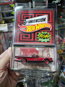 Hot Wheels 1/64 9th Mexico Convention Exclusive Classic TV Series Batmobile