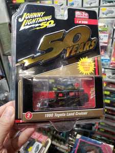 Johnny Lightning 1/64 #2 1980 Toyota Land Cruiser