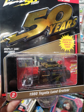 Load image into Gallery viewer, Johnny Lightning 1/64 #2 1980 Toyota Land Cruiser