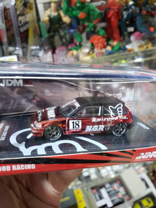 Inno64 Inno 1/64 Honda Civic ef Mizuho Ltd. NGR #18 No Good Racing Limited 2000pcs #s100