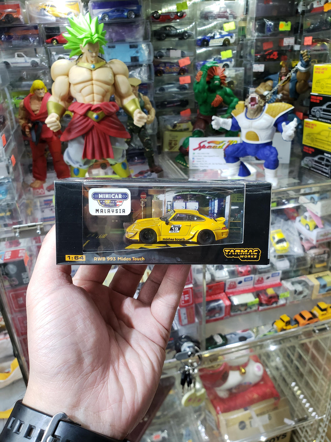 Tarmac Works 1/64 Porsche 930 RWB Rauh-Welt Begriff Midas Touch Malaysia Exclusive Model Dinner Car 180 Pcs Only